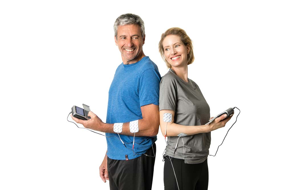 Happy-couple-Used-TENS-EMS-Combo-Device-STIM-PRO-X9