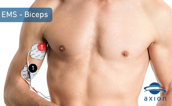 ems-biceps-pad-placement