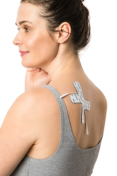 TENS-application-on-shoulder-pain-with-the-electrode-against-joint-pains
