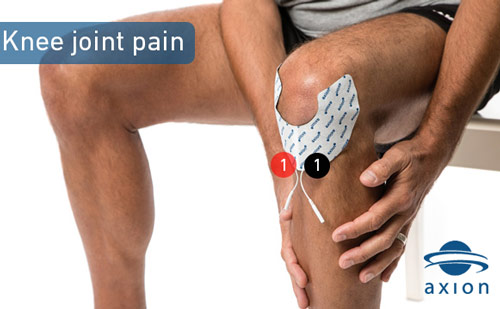 TENS-electrode-placement-for-knee-joint-pain