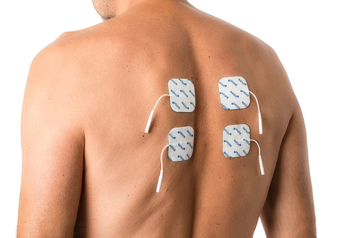 TENS-application-for-arthrosis-back-pain-electrode-placement