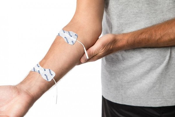 Stimulation Current Electrode Pads for Fingers and Wrists